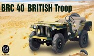 Ebbro Plastic Model Kits  1/24 Bantam BRC40 British Troop Recon Vehicle - Pre-Order Item EBB25018