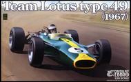 Ebbro Plastic Model Kits  1/20 1967 Lotus Type 49 Team Lotus F1 Race Car EBB4