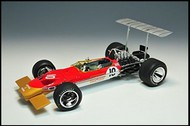 Ebbro Plastic Model Kits  1/20 1968 Lotus Type 49B Team Lotus F1 Race Car EBB5