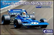 Ebbro Plastic Model Kits  1/20 1971 Tyrrell 003 Monaco Grand Prix Race Car EBB7