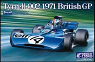 Ebbro Plastic Model Kits  1/20 1971 Tyrrell 002 British Grand Prix Race Car EBB8
