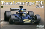 Ebbro Plastic Model Kits  1/20 1973 Lotus Type 72E Team Lotus F1 Race Car EBB9