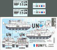 Echelon Fine Details  1/72 UNIFIL Leclerc T6 UN Tank Markings ECH726002