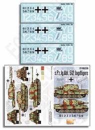 Echelon Fine Details  1/16 s.Pz.Jg.Abt. 512 Jagdtigers ECH166236