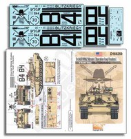 Echelon Fine Details  1/16 3rd ACR M1A2 Abrams (OIF) Bandit Troop Blitzkrieg ECH166250