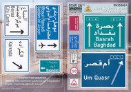 Echelon Fine Details  1/35 Road & Traffic Signs OIF Pt1 (D)<!-- _Disc_ --> ECH355001