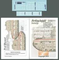 Echelon Fine Details  1/35 Fording Height 3 Variations of WWII British AFV's (D)<!-- _Disc_ --> ECH356111