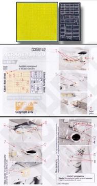 Echelon Fine Details  1/35 Merkava Mk 3D Vision Block Masks for MGK (D)<!-- _Disc_ --> ECH356142