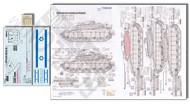 Echelon Fine Details  1/35 Merkava Siman 3D 188th Barak Lightning Brigade (D)<!-- _Disc_ --> ECH356143