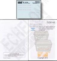 Echelon Fine Details  1/35 IDF .50cal M2 Ammo Labels (D)<!-- _Disc_ --> ECH356146