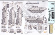 Echelon Fine Details  1/35 Achzarit Cruel Lady Early IDF Heavy Armored Personnel Carrier Pt.1 w/Photo-Etch for MGK (D)<!-- _Disc_ --> ECH356177