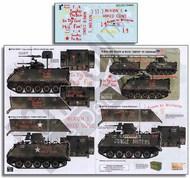 M113s & M132 Zippo in Vietnam AFVs 1/5th Inf Rgt Bobcats, 25th Inf Div Tropic Lightning #ECH356275