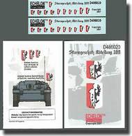Echelon Fine Details  1/48 Sturmgeschutz Abteilung 189 ECH486020