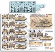 Echelon Fine Details  1/48 3rd ACR M1A2 Abrams (OIF) ECH486250