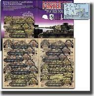 Echelon Fine Details  1/72 Panzer IV Ausf F1/F2& G PzGrenDiv GD, 18PzAbt Das Reich 6/ & 9/PzRgt15 of 11PzDiv ECH721020