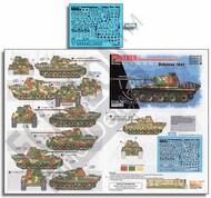 Echelon Fine Details  1/72 12. SS-Pz.Div. Panthers (Pt3) Ardennes 1944 ECH721033