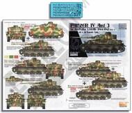 Echelon Fine Details  1/72 LAH Panzer IV Ausf.Js 1944-1945 (Pt.2) ECH721036