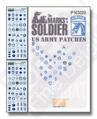 Echelon Fine Details  1/16 US Army Patches P163020