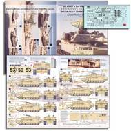 Echelon Fine Details  1/72 U.S. ARMY (1-64 Armor, HQ & C Co) M1A1HAs in 'OIF' T72015