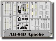 Eduard Accessories  1/48 AH-64D Apache EDUFE201