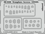 Eduard Models  1/144 STEEL Template Access EDU0030