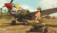 Eduard Models  1/32 P40N Warhawk Fighter (EduArt Ltd Edition Plastic Kit) EDU11104