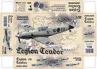 Eduard Models  1/32 Legion Condor Aircraft (Ltd Edition Plastic Kit) EDU11105