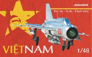 Eduard Models  1/48 MiG-21PFM Vietnamese Air Force Fighter (Ltd Edition Plastic Kit) EDU11115