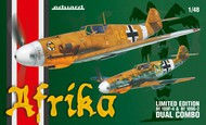 Eduard Models  1/48 Afrika Fighter Dual Combo (Ltd Edition Plastic Kit) EDU11116
