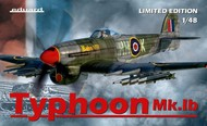 Eduard Models  1/48 Typhoon Mk Ib Aircraft (Ltd Edition Plastic Kit) EDU11117
