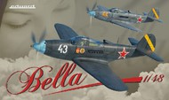 Eduard Models  1/48 Bell P-39 Airacobra WWII Soviet Fighter (Ltd Edition Plastic Kit) EDU11118