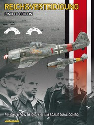 Eduard Models  1/48 Collection - The Defence of the Reich (Reichsverteidigung) Luftwaffe Aircraft (Ltd Edition Plastic Kit) EDU11119