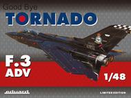 Tornado F-3 ADV Aircraft (Ltd Edition Plastic Kit) #EDU11126