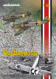 Eduard Models  1/48 Bf.109E-4B/E-7/F-2 Barbarossa Aircraft Eastern Front Dual Combo (Ltd Edition Plastic Kit) EDU11127