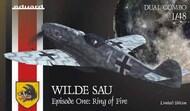 Bf.109G-5/6 Wilde Sau (Wild Boar) Epizode One Ring of Fire WWII German Night Fighter (Ltd Edition Plastic Kit) #EDU11140