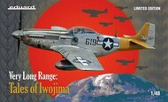 VERY LONG RANGE: Tales of Iwo Jima Limited edition kit of US WWII fighter P-51D in scale #EDU11142