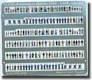 Eduard Models  1/350 Passengers Figures 1920 EDU17510
