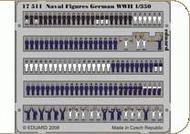 Eduard Models  1/350 Naval Figures German WWII EDU17511