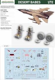 DESERT BABES - Panavia Tornado - Pre-Order Item* #EDU2137