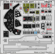 Eduard Models  1/24 Aircraft- F6F-5 Interior for ARX EDU23032