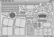 Eduard Models  1/24 Aircraft- F6F-5 Engine for ARX EDU23033