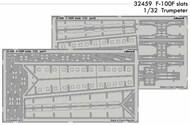 F-100F Slats for TSM #EDU32459