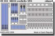 Eduard Models  1/35 AH-64 Apache Seatbelts EDU32555