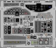 Eduard Models  1/32 He.111P-1 Interior S.A. PE-SET EDU32709