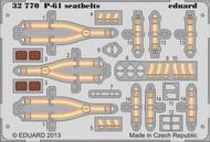 Eduard Models  1/32 Aircraft- Seatbelts P61 for HBO (Painted) EDU32770