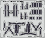 Eduard Accessories  1/35 Aircraft- Seatbelts MH-60S for ACY (Painted) EDU32838
