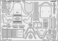 Supermarine Spitfire Mk.IIa interior (designed to be used with Revell kits) #EDU32936