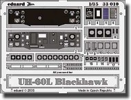 Eduard Models  1/35 UH-60L Black Hawk  dashboard EDU33010