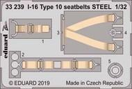 I-16 Type 10 seatbelts STEEL #EDU33239