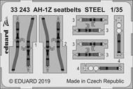 Bell AH-1Z Shark Mouth seatbelts STEEL #EDU33243